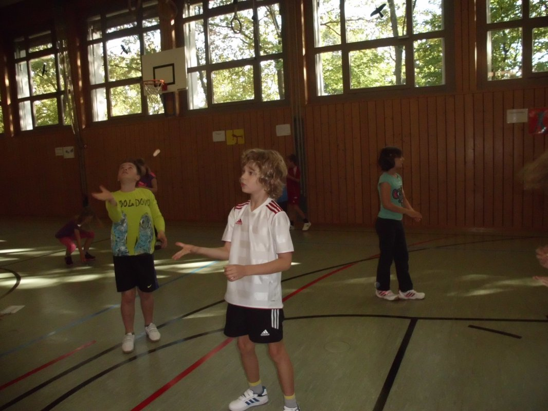 Afrikanische Spiele im Sportunterricht