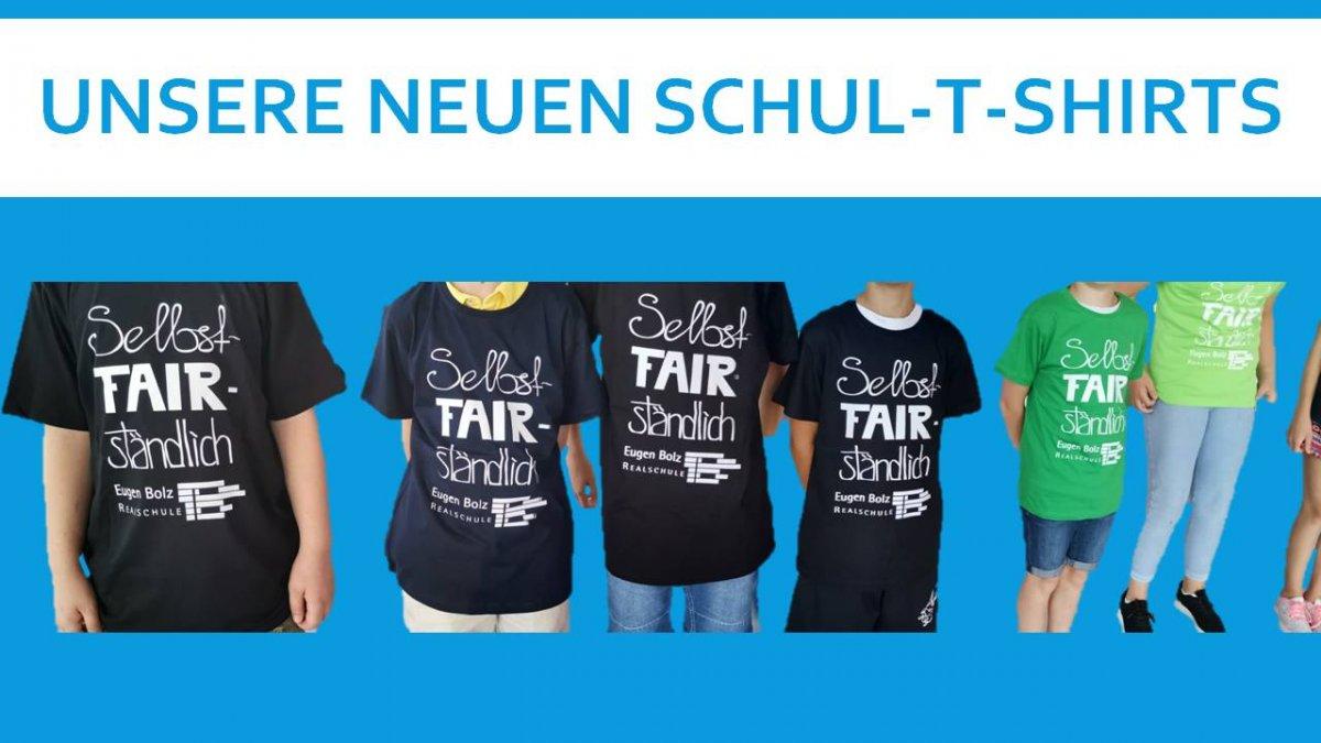 """Schul T-Shirts """"Selbstfairständlich"""""""