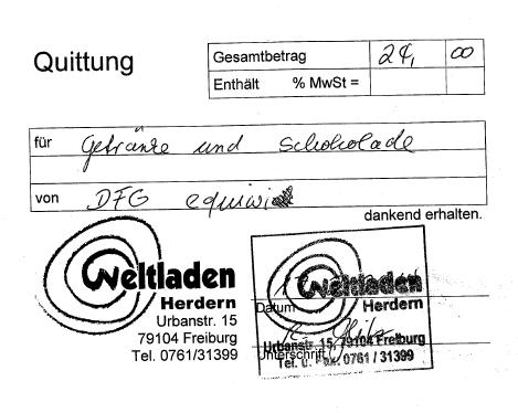 Quittung_Weltladen