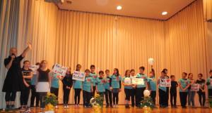 Abschlussfeier Fairtrade