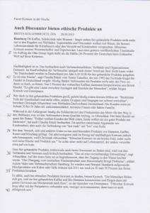 Fairtrade SoWi-Klausur 2