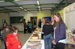 Cafeteria am Tag der offenen Tür 2014