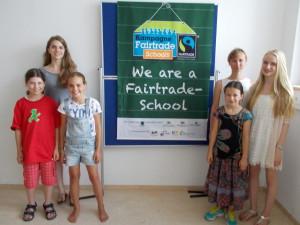 Aktuelles Fairtradeteam Schülerinnen