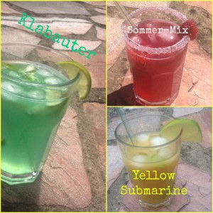 3 faire Cocktails: Klabauter, Sommer-Mix und Yellow Submarine