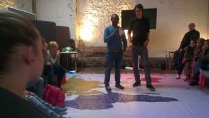 Workshop Flüchtlinge