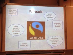 Projektarbeit zum fairen Handel