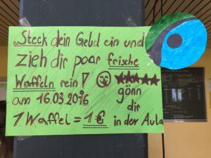 Waffeln Poster