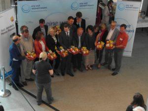 Natürlich war auch Prominenz vertreten: der Staatssekretär aus dem BMZ Thomas Silberhorn und Europaministerin Beate Merk