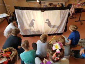 Schattenspiel - das Leben der Kinder auf Bali