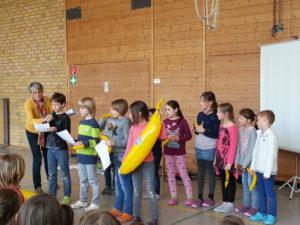 Präsentation auf dem Schulfest