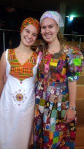 Sabrina Wilkening und Laura Fe Massenberg