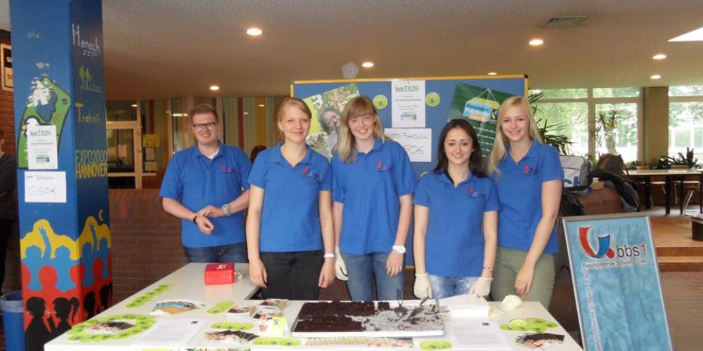Fairtrade – Brownies in der BBS 1 Leer
