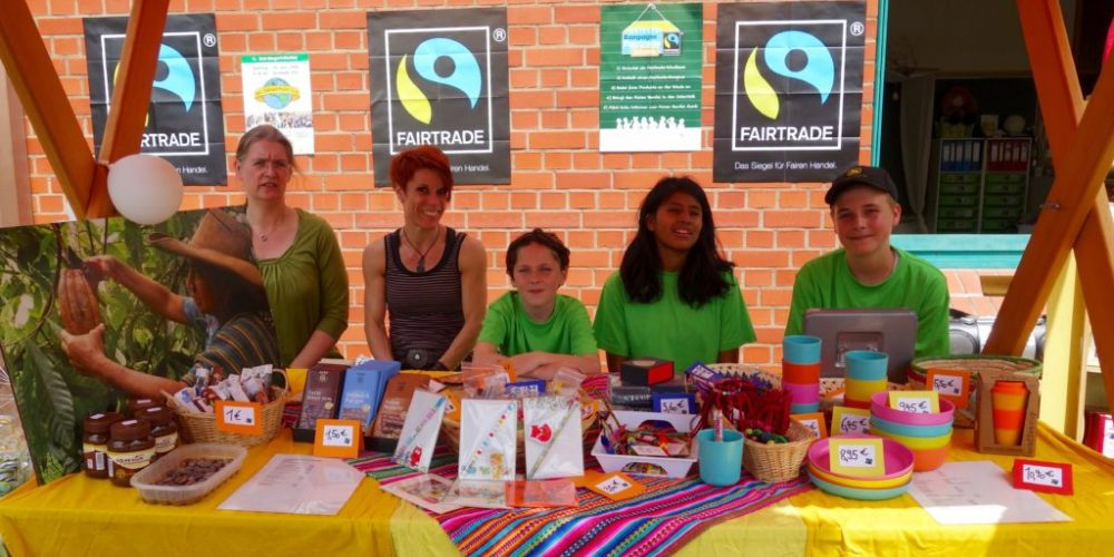 Rückblick 2015/16: Fair Trade am Sommerfest