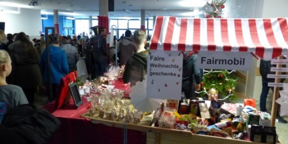 Fairmobil am Weihnachtsaktionstag 2018